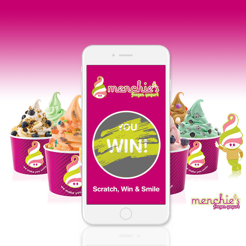 Menchie's Scratch & Win Contest